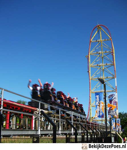 2. Top Thrill Dragster