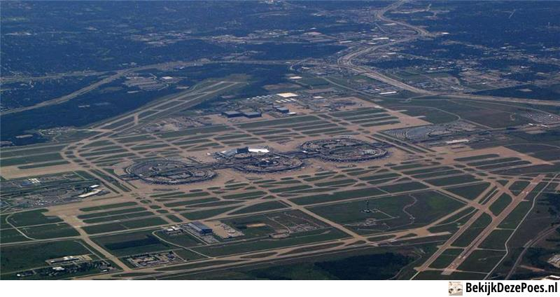 1. Dallas – Fort Worth International Airport