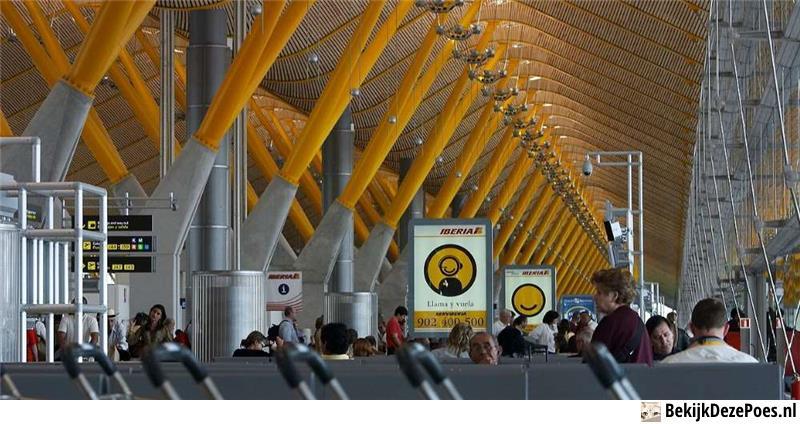 6. Madrid Barajas Airport