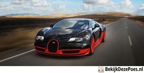 1. Der Bugatti Veyron 16.4 Super Sport - 431 km/h