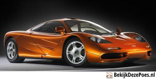 7. McLaren F1 - 391km/h