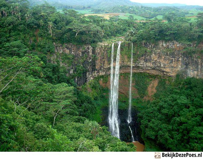 2. Chamarel-Wasserfall